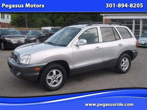 2004 Hyundai Santa Fe for sale in Oxon Hill MD