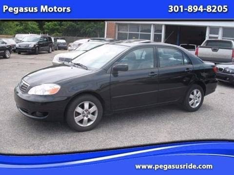 2005 Toyota Corolla for sale in Oxon Hill MD