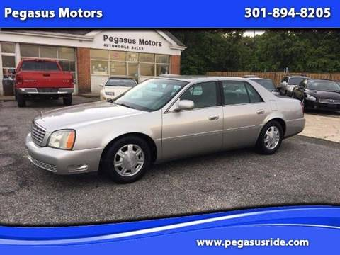 2004 Cadillac DeVille for sale in Oxon Hill MD