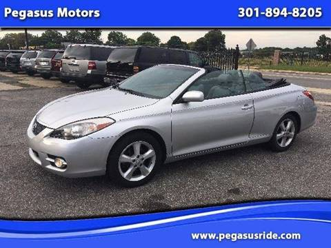2008 Toyota Camry Solara for sale in Oxon Hill MD