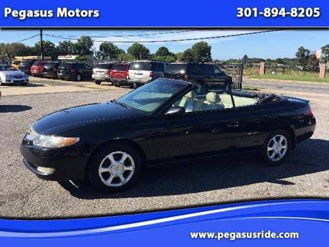 2002 Toyota Camry Solara for sale in Oxon Hill, MD