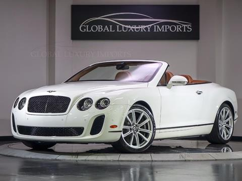 2011 Bentley Continental Supersports for sale in Burr Ridge, IL
