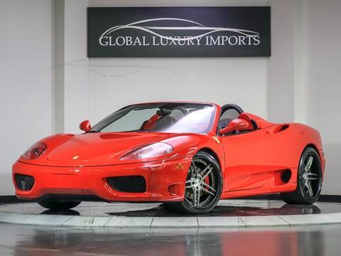 2003 Ferrari 360 Spider for sale in Burr Ridge, IL
