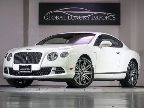 2013 Bentley Continental GT Speed for sale in Burr Ridge, IL