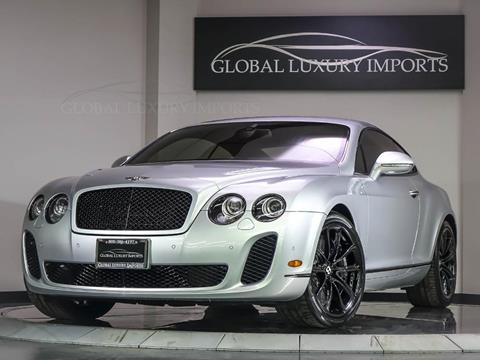 2010 Bentley Continental Supersports for sale in Burr Ridge, IL