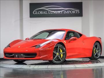 2013 Ferrari 458 Italia for sale in Burr Ridge, IL