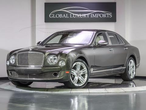 Bentley Mulsanne For Sale  Carsforsalecom