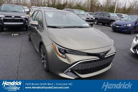 2019 Toyota Corolla Hatchback for sale in Concord, NC