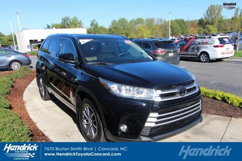 2018 Toyota Highlander for sale in Concord, NC