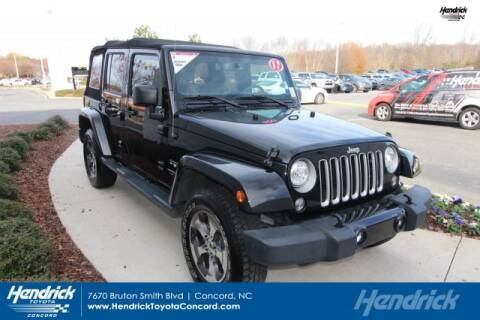 2017 Jeep Wrangler Unlimited for sale in Concord, NC