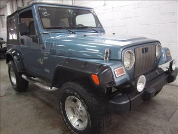 1999 Jeep Wrangler for sale at US Auto Auction in Pennsauken NJ