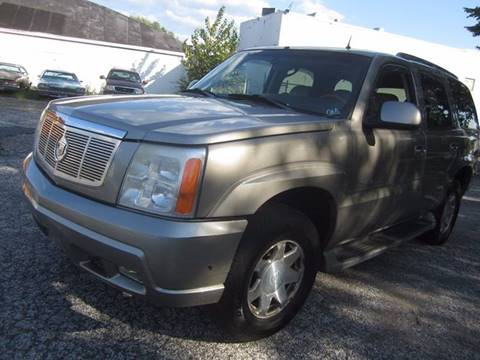 2002 Cadillac Escalade for sale in Pennsauken, NJ