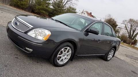 2007 Ford Five Hundred for sale at US Auto Auction in Pennsauken NJ