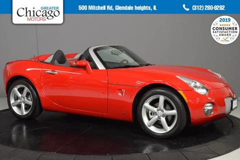 2009 Pontiac Solstice for sale in Glendale Heights, IL