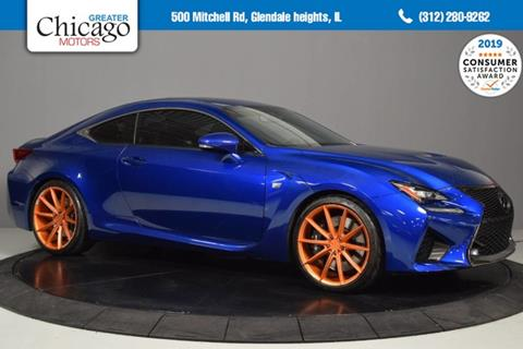 2015 Lexus RC F for sale in Glendale Heights, IL