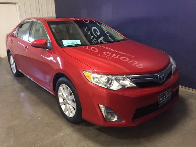 2012 Toyota Camry Hybrid for sale at The Auto Group in Sioux Falls SD