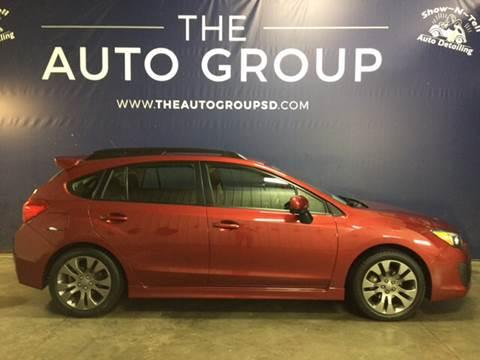 2014 Subaru Impreza for sale at The Auto Group in Sioux Falls SD