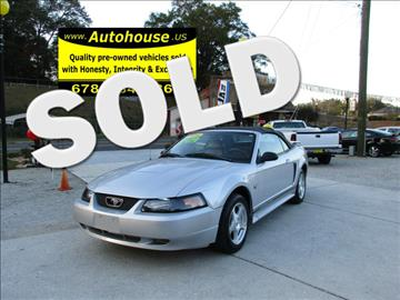 2004 Ford Mustang for sale in Hiram, GA