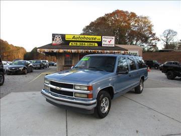 1995 Chevrolet Suburban for sale in Hiram, GA