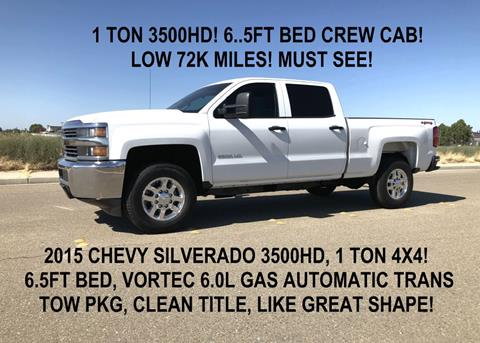 2015 Chevrolet Silverado 3500hd For Sale In Tracy Ca
