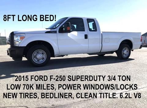 2015 Ford F-250 Super Duty for sale in Tracy, CA
