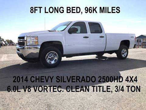 2014 Chevrolet Silverado 2500HD for sale in Tracy, CA