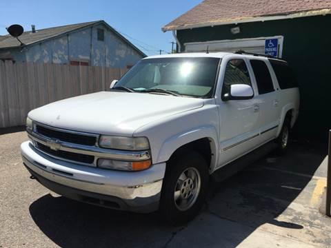 2002 Chevrolet Suburban for sale in Modesto, CA