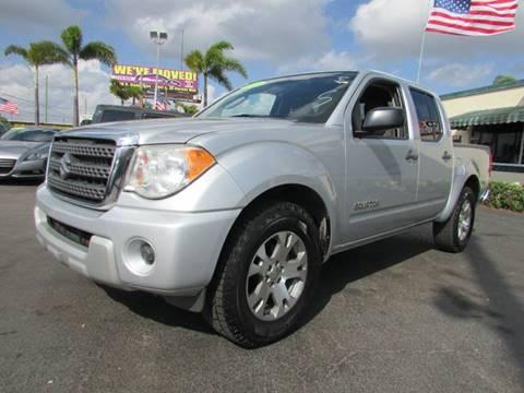 2011 Suzuki Equator for sale in West Palm Beach, FL