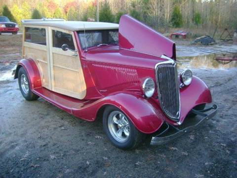 1934 Ford Woodie for sale at Classic Cars of South Carolina in Gray Court SC