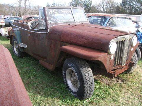 1948 Willys Jeepster for sale at Classic Cars of South Carolina in Gray Court SC