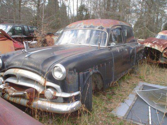 1953 packard flower car hearse in gray court sc classic cars of south carolina. Black Bedroom Furniture Sets. Home Design Ideas