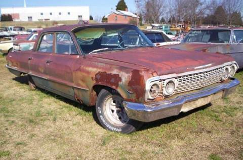 1963 Chevrolet Bel Air for sale in Gray Court, SC