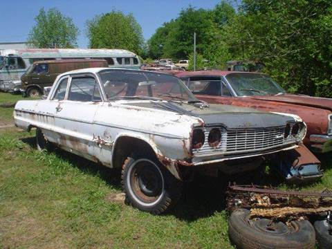 1964 Chevrolet Bel Air for sale at Classic Cars of South Carolina in Gray Court SC