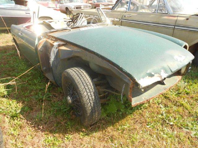 1968 MG B for sale at Classic Cars of South Carolina in Gray Court SC