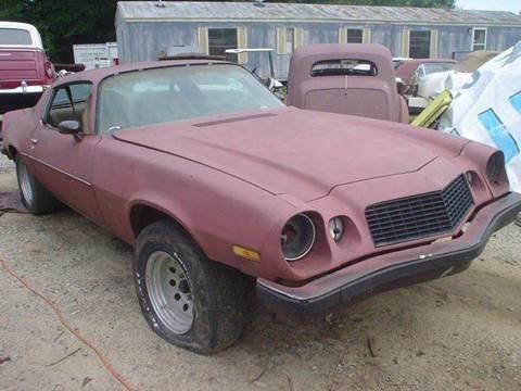 1977 Chevrolet Camaro For Sale  Carsforsalecom