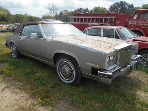 1984 Cadillac Eldorado for sale in Gray Court, SC