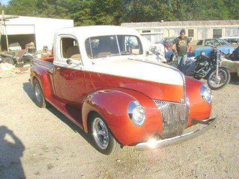 1940 Ford Custom Street Rod Pickup for sale at Classic Cars of South Carolina in Gray Court SC