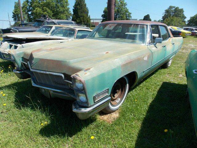 Cadillac classic cars salvage autos for sale gray court classic 1968 cadillac deville publicscrutiny Image collections