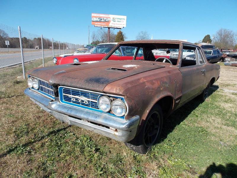1964 Pontiac Gto In Gray Court SC - Classic Cars of South Carolina