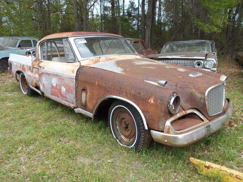 1956 Studebaker Hawk 2-Door In Gray Court SC - Classic Cars of South ...