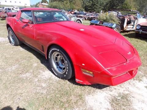 1982 Chevrolet Corvette for sale in Gray Court, SC