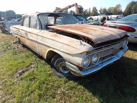 Chevrolet Classic Cars Salvage Autos For Sale Gray Court Classic
