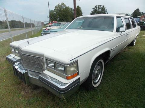 1983 Cadillac DeVille for sale at Classic Cars of South Carolina in Gray Court SC