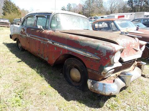 1956 Chevrolet Bel Air for sale at Classic Cars of South Carolina in Gray Court SC