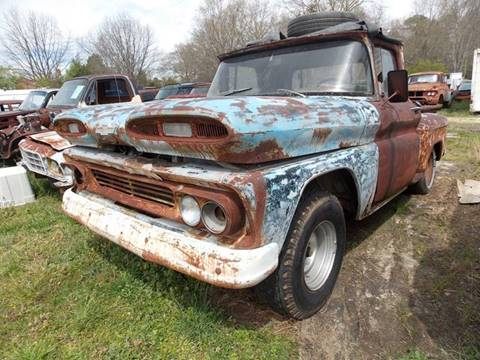 1960 Chevrolet C/K 10 Series for sale at Classic Cars of South Carolina in Gray Court SC
