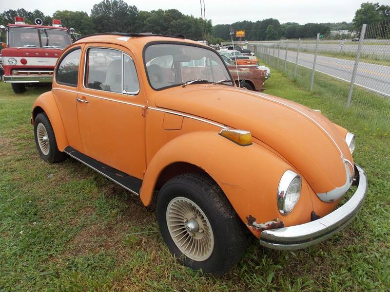1972 Volkswagen Super Beetle for sale at Classic Cars of South Carolina in Gray Court SC