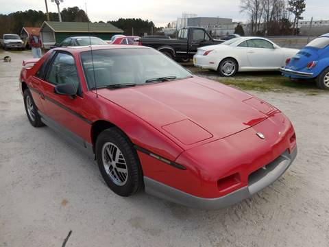 1985 Pontiac Fiero for sale in Gray Court, SC