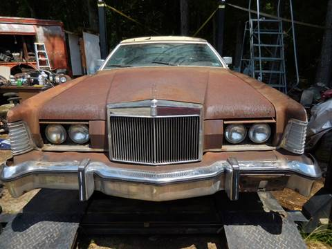 1976 Lincoln Mark IV for sale at Classic Cars of South Carolina in Gray Court SC