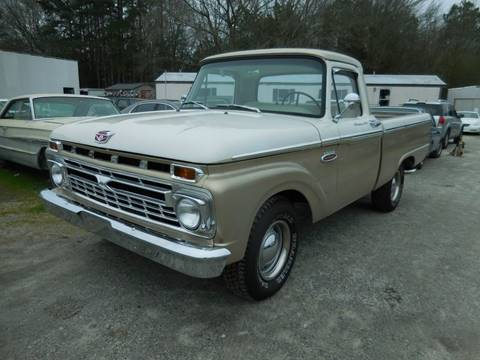 1966 Ford F-100 for sale at Classic Cars of South Carolina in Gray Court SC