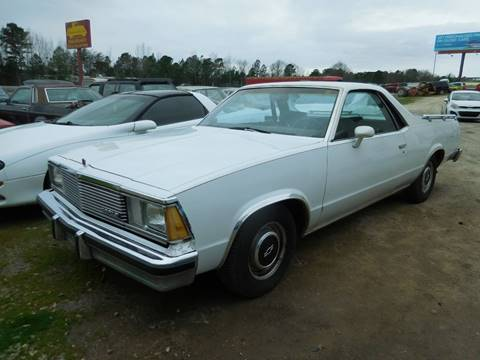 1981 Chevrolet El Camino for sale at Classic Cars of South Carolina in Gray Court SC